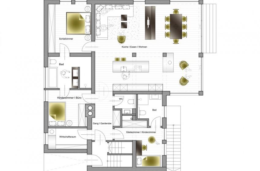 Zubau efh in pfarrwerfen frame innenarchitektur for Innenarchitektur anforderungen