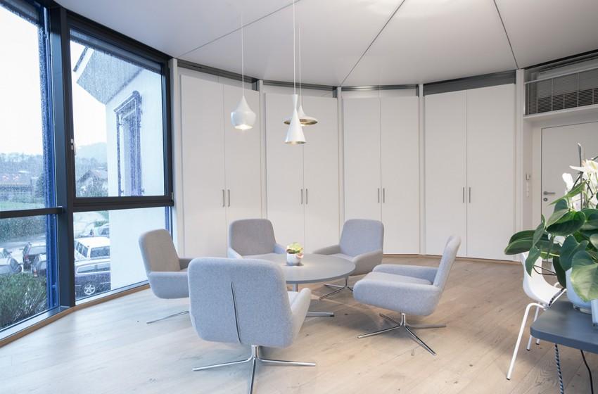 Firma Meissl advanced open-air solutions I Büro Geschäftsführung in Pfarrwerfen