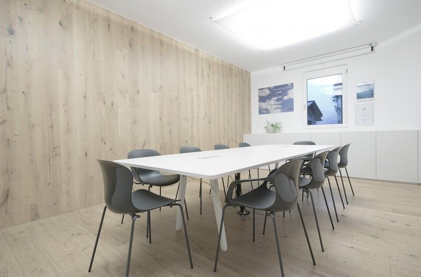 Firma Meissl advanced open-air solutions I Besprechungsraum in Pfarrwerfen