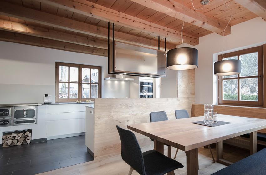 planung und umsetzung eines koch- und essbereiches in wagrain, Innenarchitektur ideen
