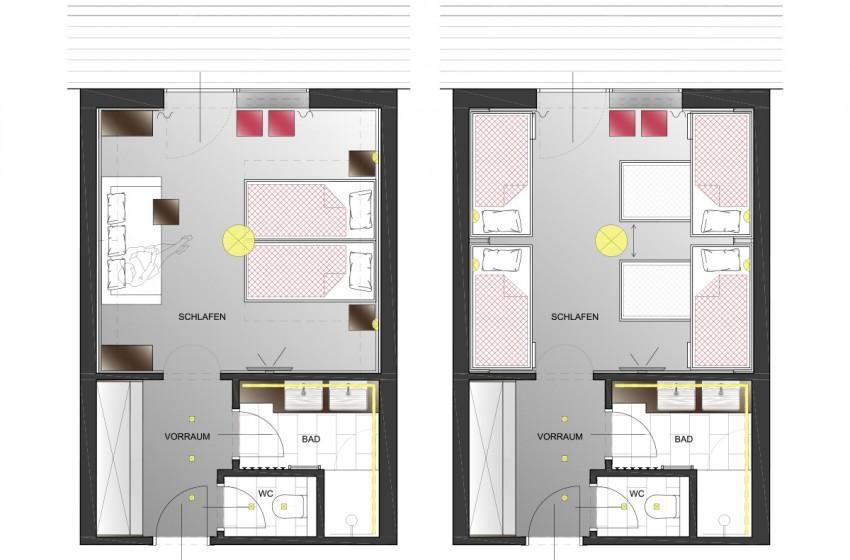jugendhotel markushof in wagrain im salzburgerland : frame, Innenarchitektur ideen