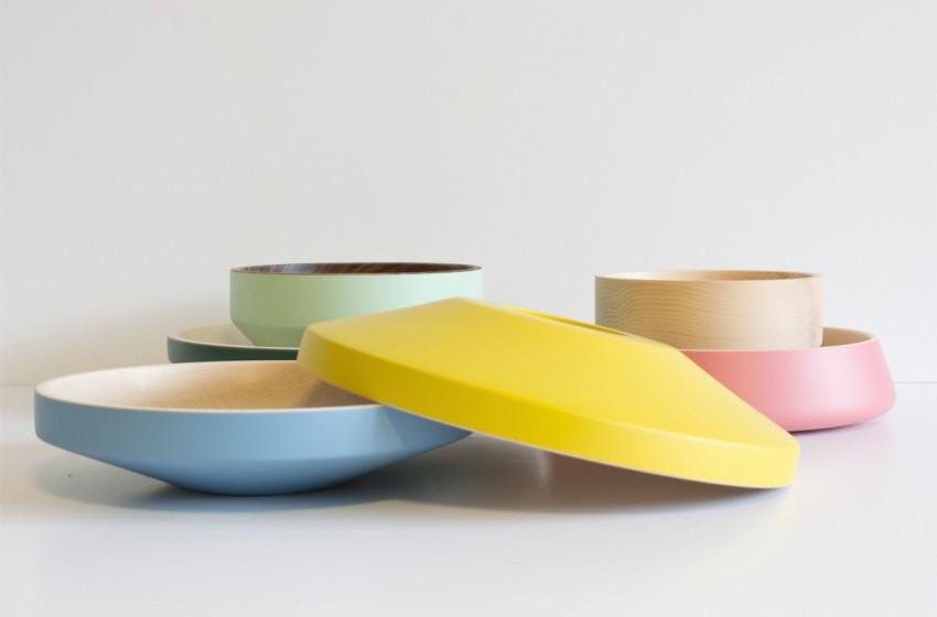 Holzschalen | farbig