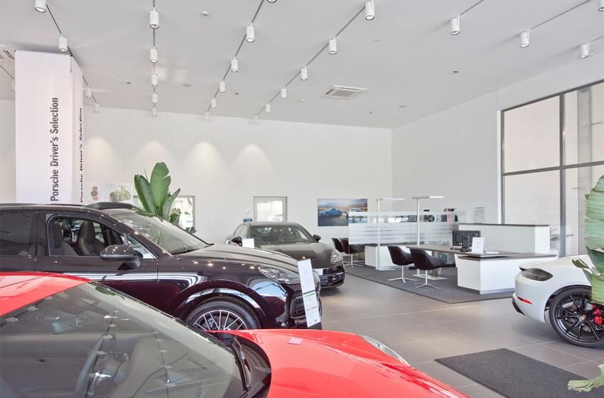 FRAME Innenarchitektur | Porsche Dornbirn