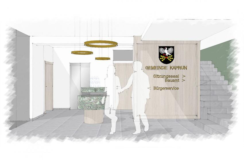 FRAME Innenarchitektur | Gemeindeamt Kaprun